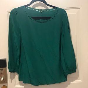 Jcrew women's silk top